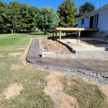 stamped concrete installers near me