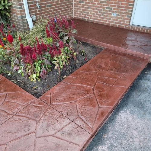stamped concrete harrisburg pa