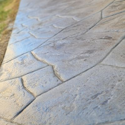 Stamped Stain concrete