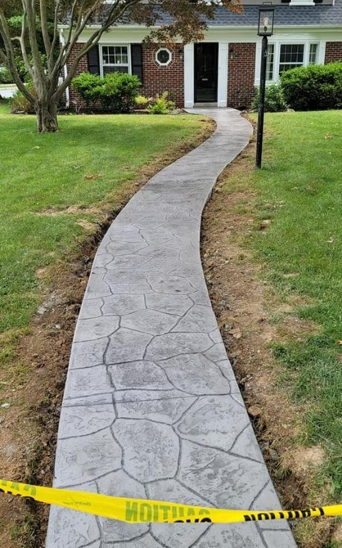 stamped concrete services near me