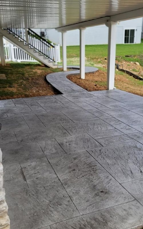 best stamped concrete contractor in ephrata pa